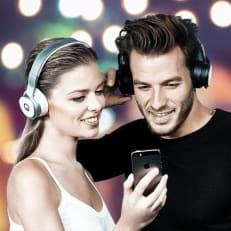 wireless headphones for sports men & women - boys - girls