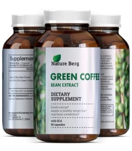Natural Raw Green Coffee Bean Extract best weight loss pills or fat burning supplement