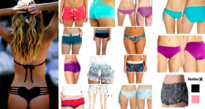 New 25 Womens Board Shorts, Swim Shorts, Bikini Bottoms, Boy Short Panties and swim pant boyshorts boyshorts plus size boy shorts womens board shorts