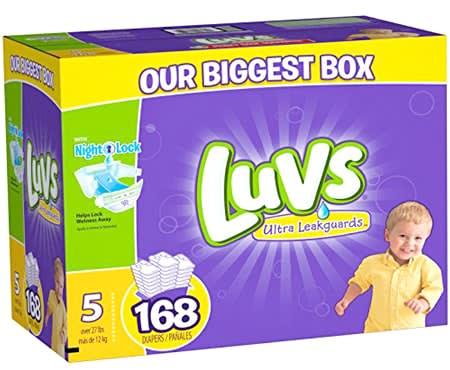 luvs newborn diapers
