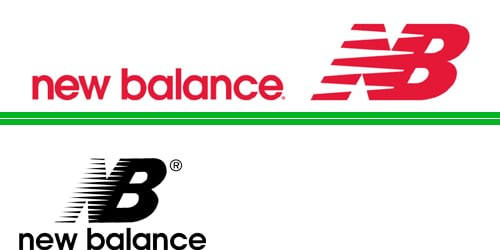 NB - New Balance shoe companies logo