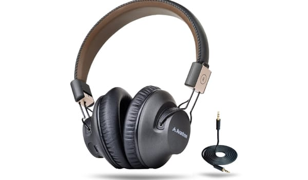 Avantree Wireless Bluetooth Over Ear Headphones with Mic,& Gaming TV PC,
