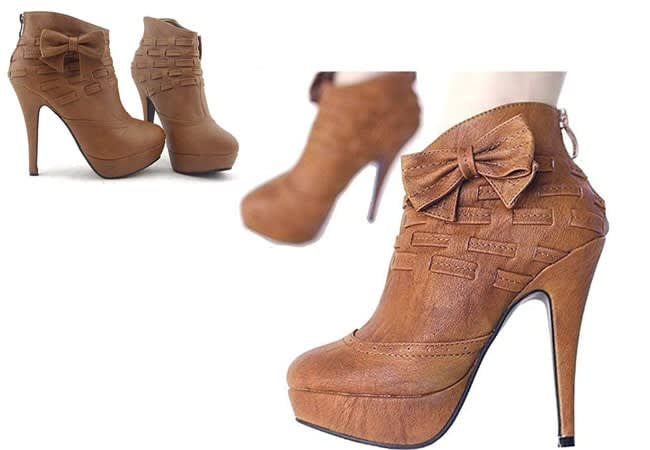 Ankle Boots -high heel boots - western boots for women