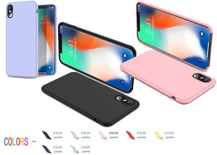 Best iPhone X Cases, TORRAS - Love Series CompatibleiPhone X Cases - best case for iphone x - best iphone x cases - cool iphone cases - black, red, rose gold, blue, pink, sky, yollow