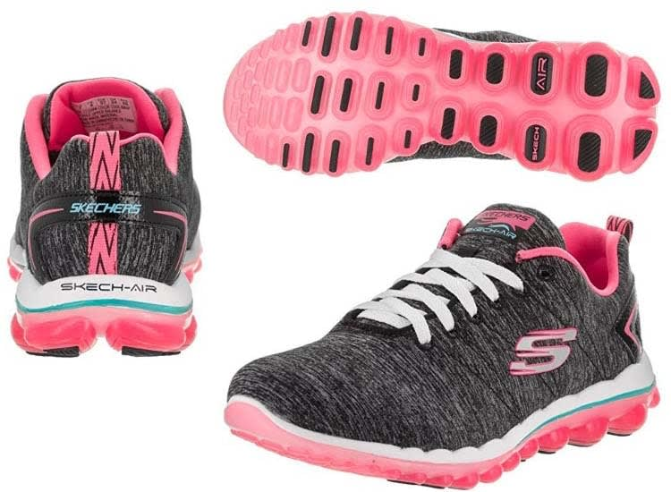 gym sneakers Skechers gym shoes
