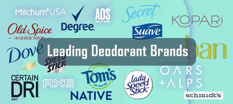 Best Deodorant For Men and Women – Top Leading Brands On The U.S Market