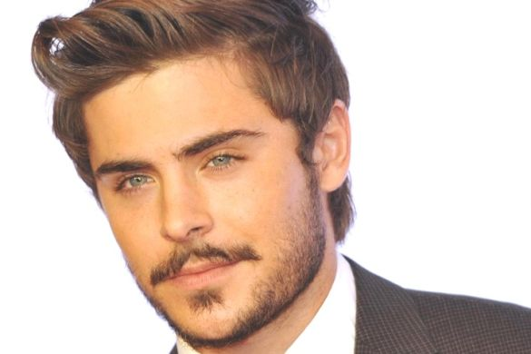 Bearded Zac Efron