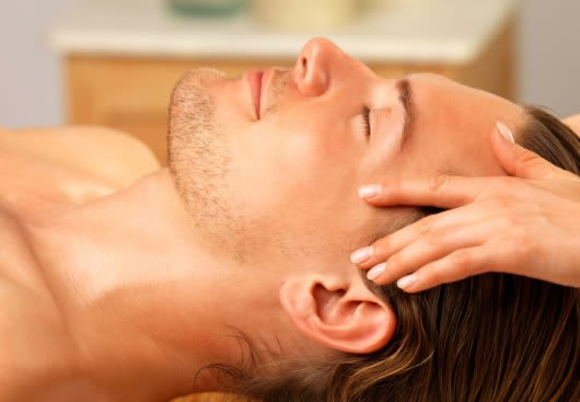 Facial skin massage