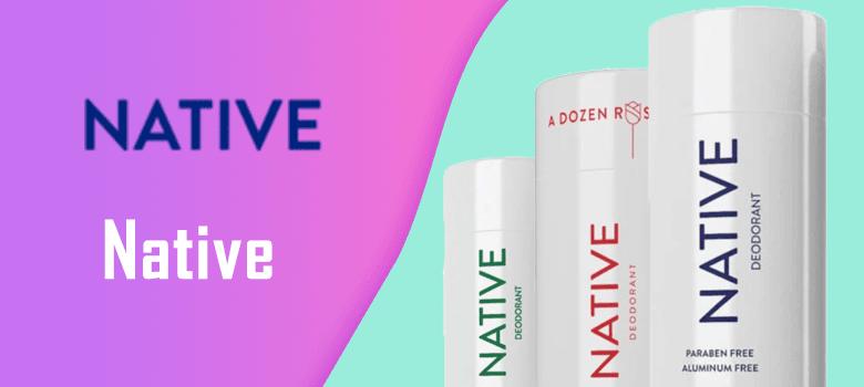 most popular native deodorant scents