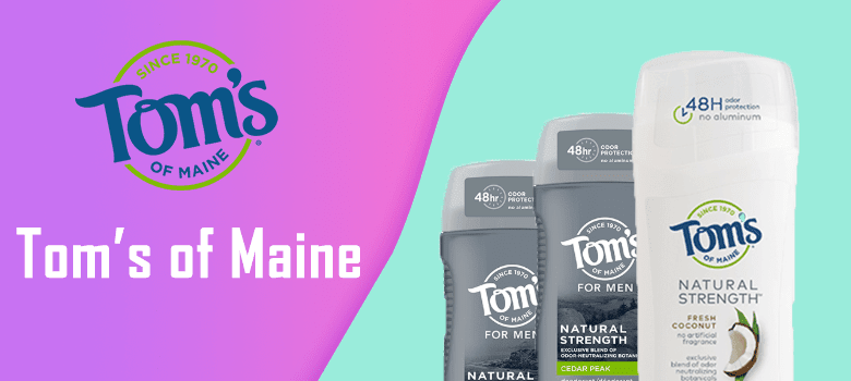 tom's of maine deodorant review