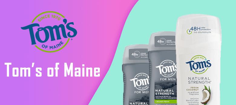 tom's of maine deodorant review