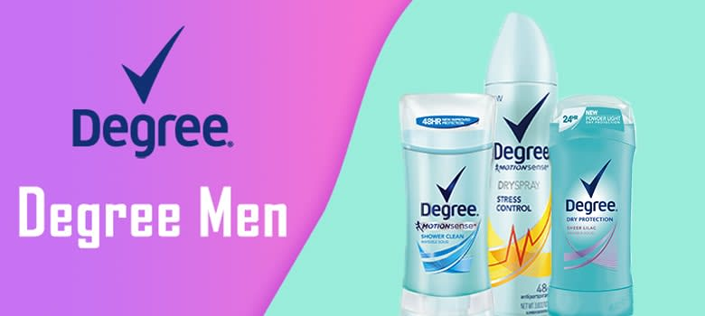 degree deodorant womens