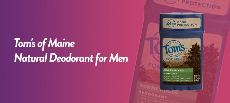 best natural deodorant for men