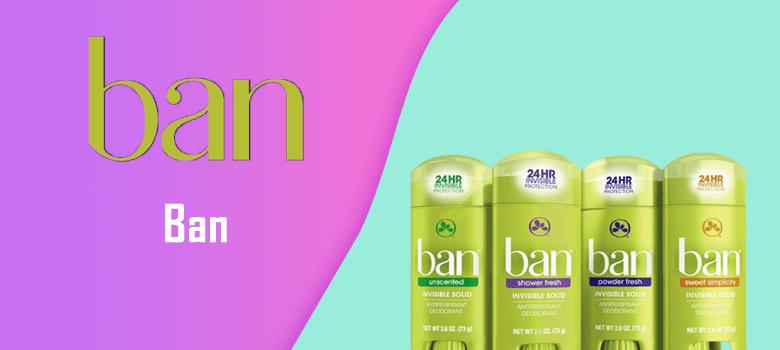 Ban deodorant reviews