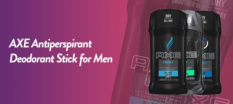 Best Antiperspirant Deodorant for Men - Stick