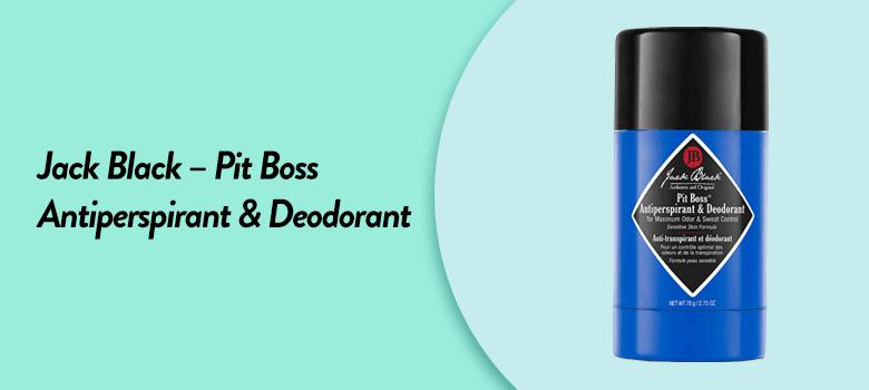 the best antiperspirant deodorant for men