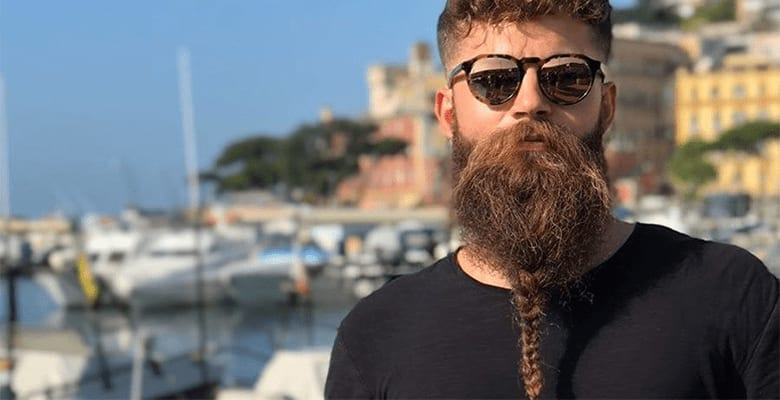 The Braided Viking Beard