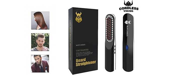 Beard Straightener for Men - Designed by Swedish Team&Based on Viking Culture