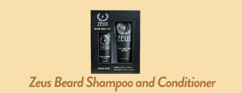 Zeus - Beard Shampoo and Conditioner For Men