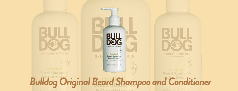 Bulldog Skincare and Grooming For Men Original Beard Shampoo and Conditioner