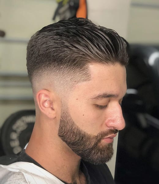 Short Blowout with Tapered Sides