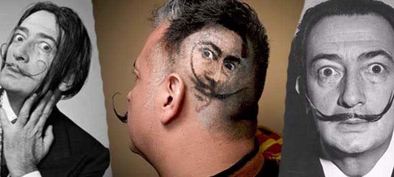 the Salvador Dali Pencil Mustache Style