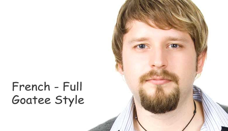 French Beard Styles Or Full Goatee Style