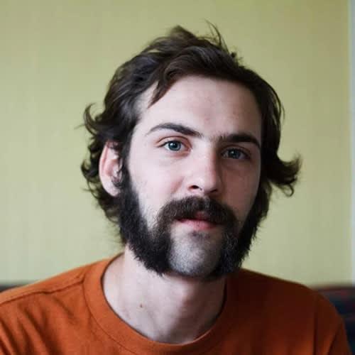 Mutton Chops Beard with Scruffy Mustache