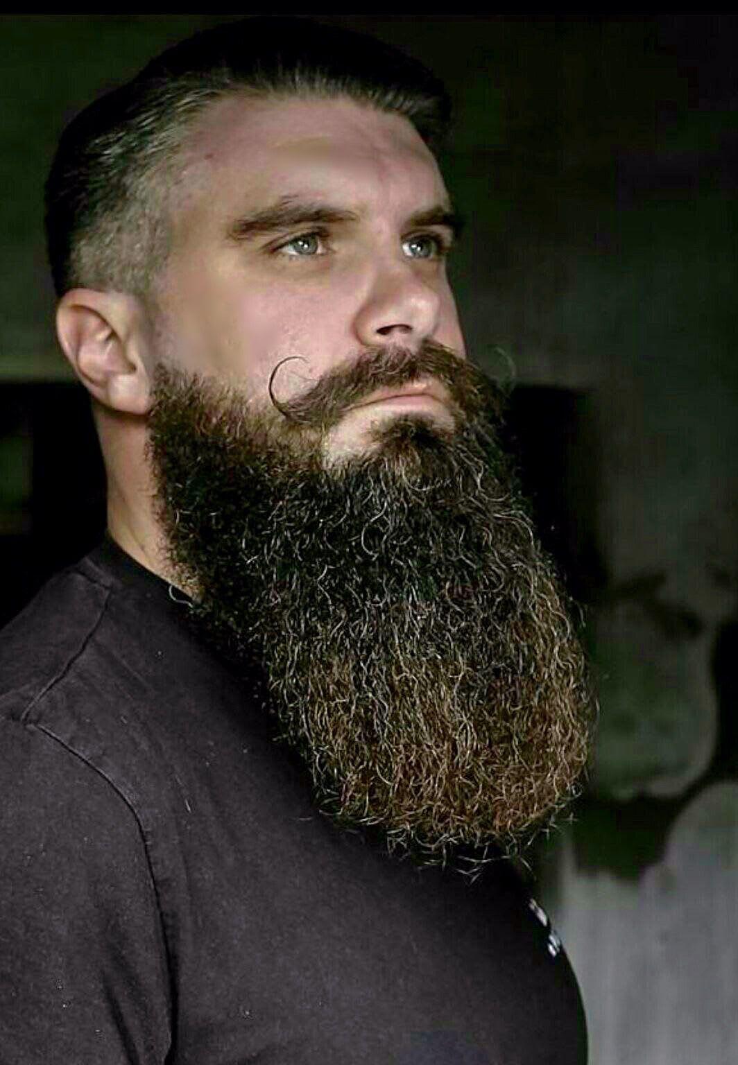 Longbeard with Mustache