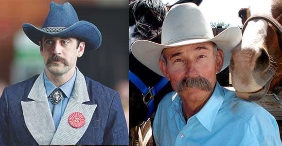 Cowboy Mustache styles 3