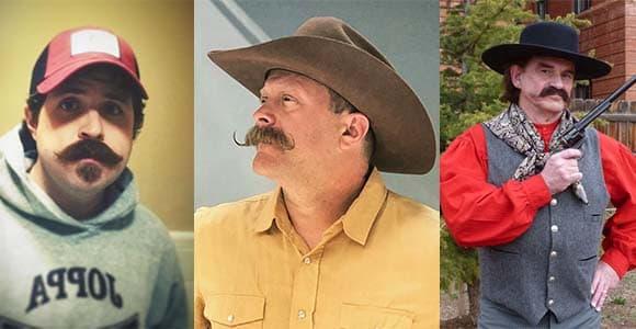Cowboy Mustache styles 12