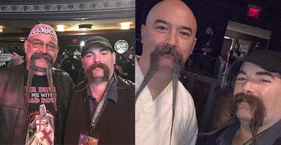long horseshoe mustache styles