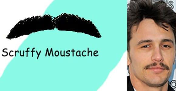 Most Popular Scruffy Mustache Style