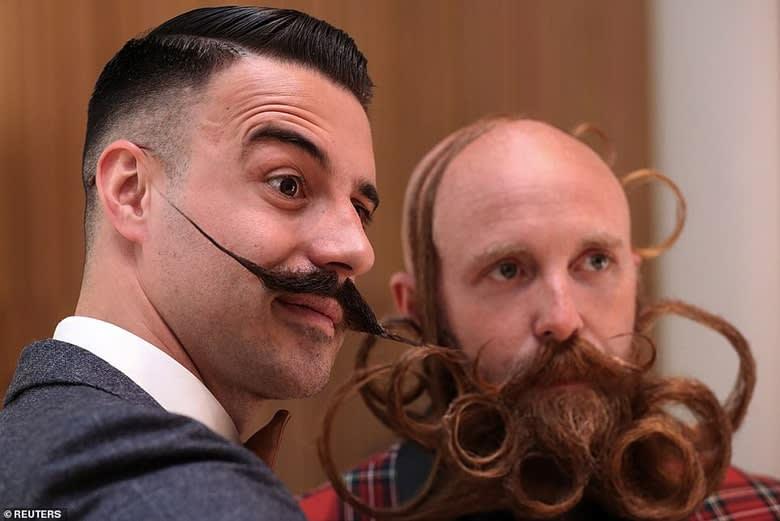 long beard and mustache styles