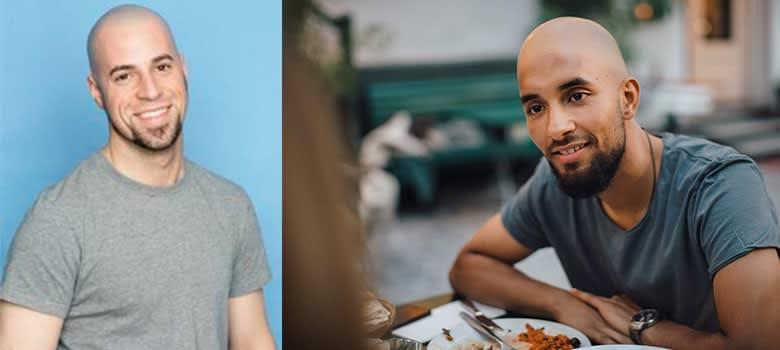 goatee styles for bald men
