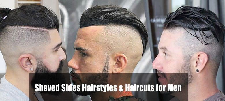 Mens Haircuts Shaved Sides