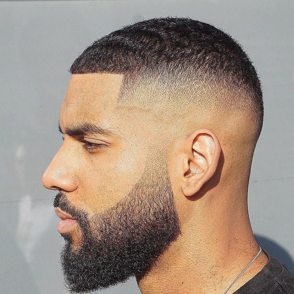 Side Fade Beard