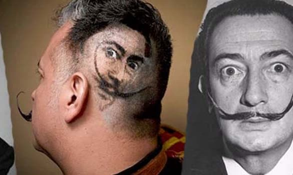 the Salvador Dali Pencil Mustache Style