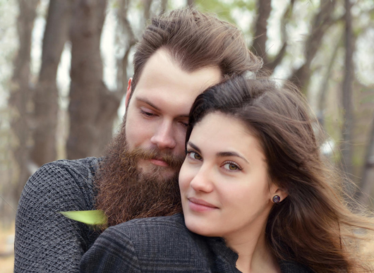 beard in couples