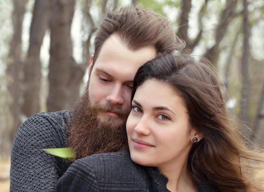 beard in couples