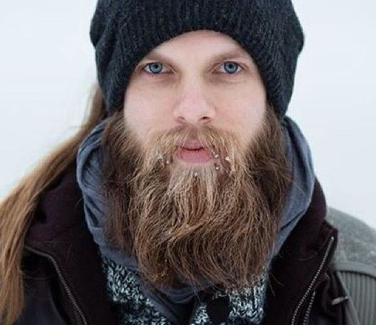 thick and long beard