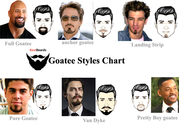 Magnificent Most Popular Goatee Styles Top 15 Mens Goatee Beard Styles In 2020 Natural Hairstyles Runnerswayorg