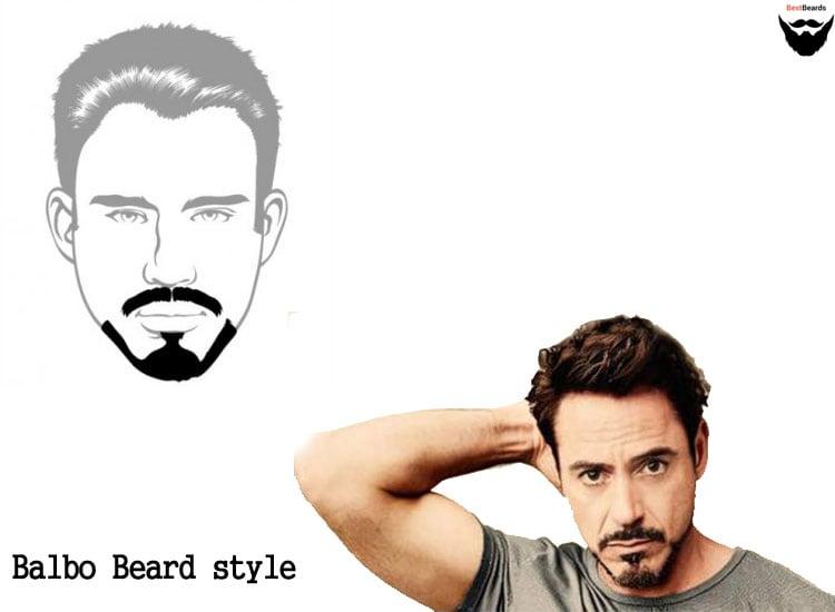 balbo beard styles, best beard styles, popular different beard styles