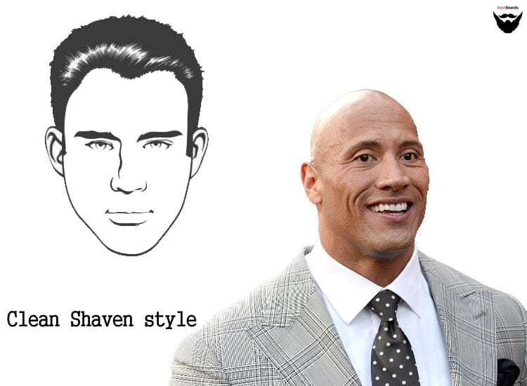 clean shaven looks beard styles for men & facial hair styles