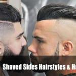 Mens Haircuts Shaved Sides