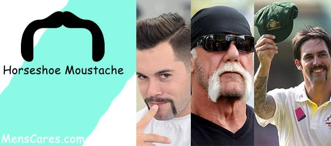 Best Mustache Styles For Men - Horseshoe Moustache
