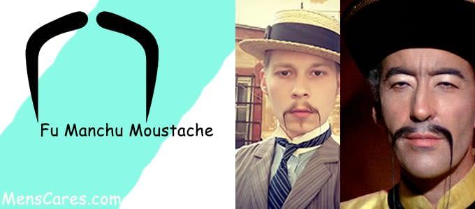 Best Mustache Styles For Men - Fu Manchu Moustache