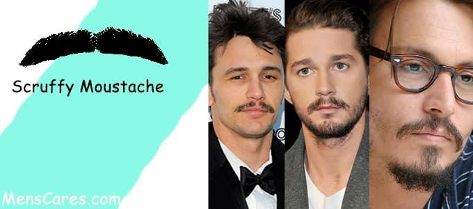 Best Mustache Styles For Men - Scruffy Moustache