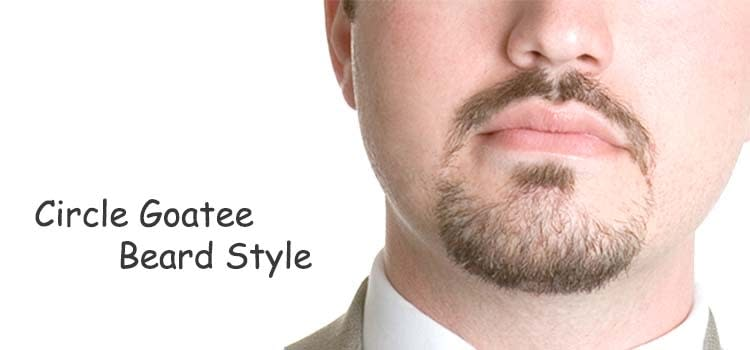 Most Popular Circle Goatee Styles
