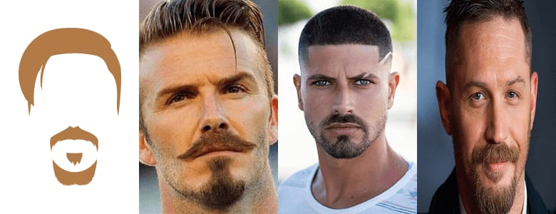 Light Stubble Beard with Chin Goatee Styles